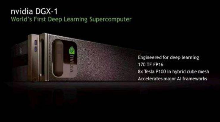 秒殺IntelXeon,NVIDIA的深度學習超級電腦強在哪?