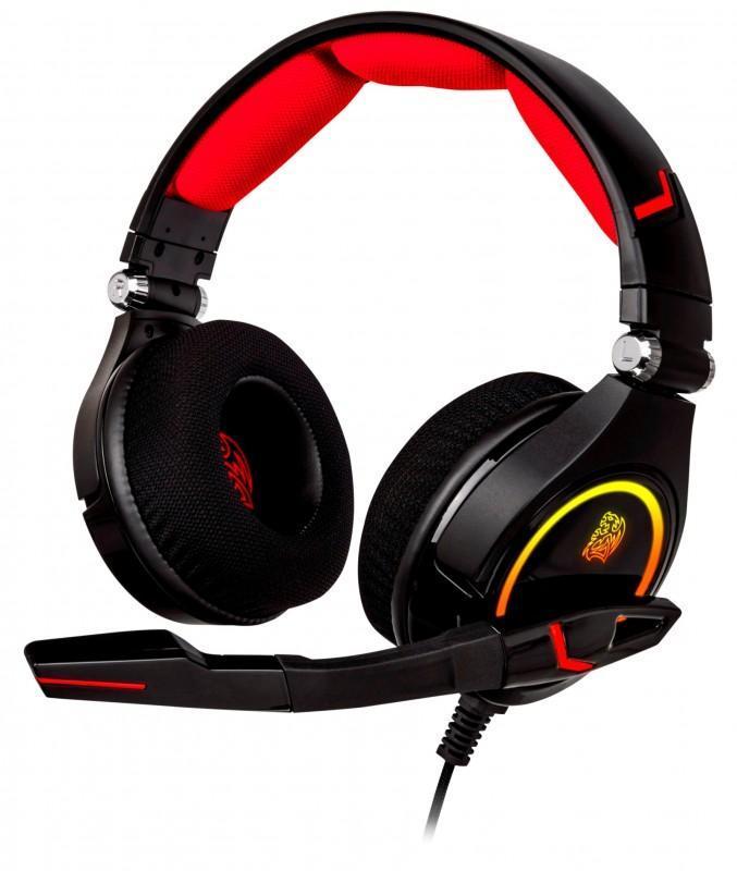 曜越Tt eSPORTS克諾司CRONOS RGB 7.1專業電競耳機為玩家帶來超乎想像的視覺與聽覺盛宴