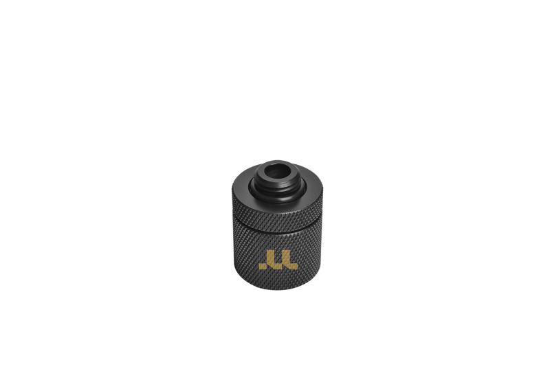 曜越全新Pacific G1/4 PETG硬管專用RGB轉接頭 外徑16mm (6顆轉接頭組)