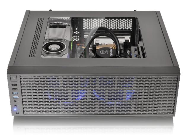 曜越全新Core G3薄型ATX電競機殼 專為4K虛擬實境VR遊戲系統所設計