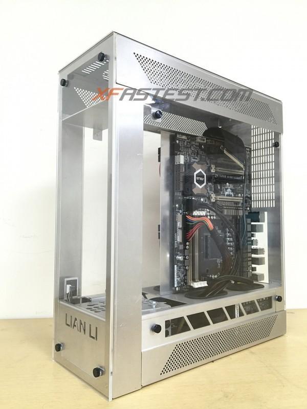 LIAN LI 聯力推出創新設計的全鋁機殼PC-O12