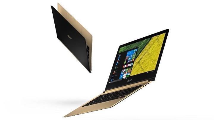 Acer發表全球最薄筆電-Swift 7 厚度不到1cm