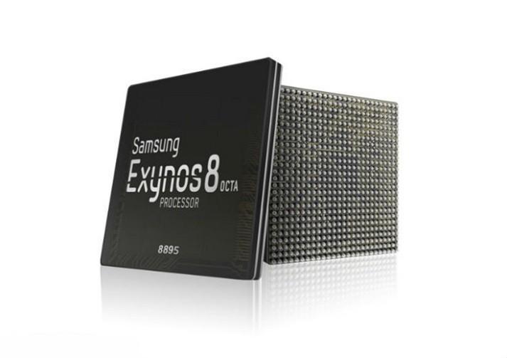 搭配ARM Mali-G71 三星Samsung Exynos 8895時脈驚人