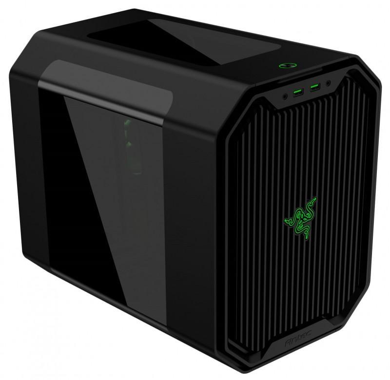 Antec Cube-Designed by Razer,綠色光芒乍現,讓你打造高階電競小主機