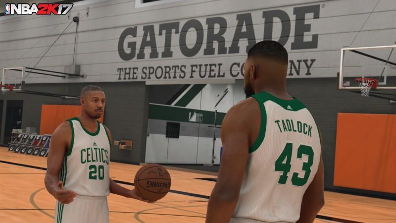 得獎演員Michael B. Jordan接下NBA 2K17 MyCAREER的演出重任