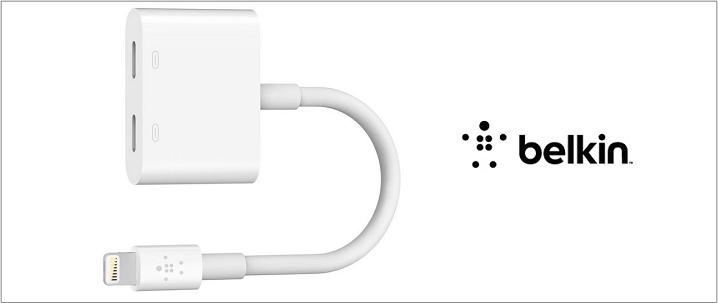 Belkin貝爾金推出iPhone 7專用Lighting轉換器 充電/聽歌一兼二顧
