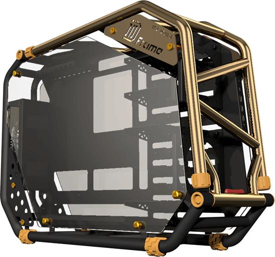 In Win D-Frame 2.0推出,30周年限量版,搭配專屬SIII-1065W電源供應器更炫