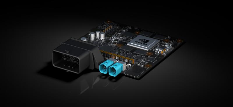 NVIDIA針對自駕車推出手掌尺寸大小、具能源效率的人工智慧超級電腦