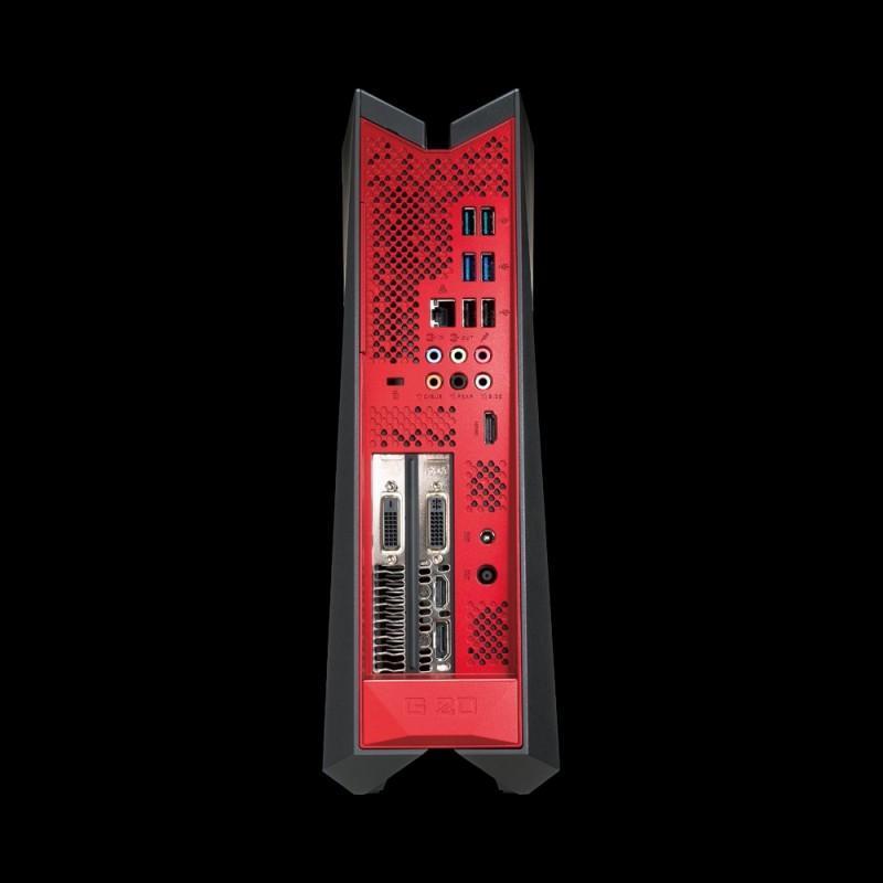 ASUS ROG G20CB小主機內建GTX 1080顯示卡,提供更棒的遊戲效能