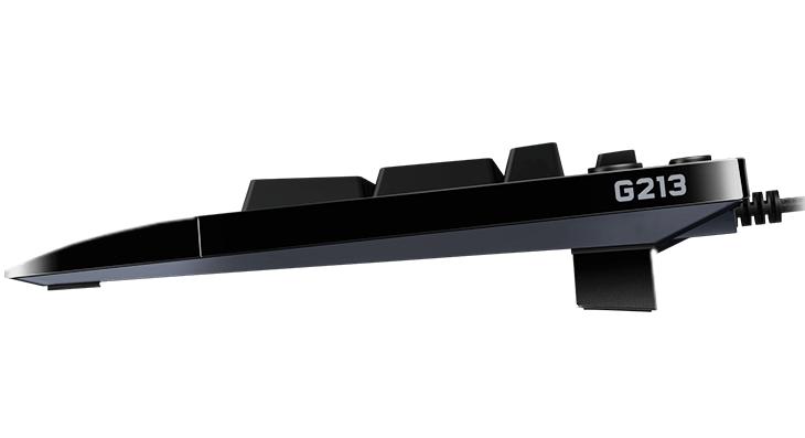 Logitech G213 Prodigy RGB類機械式鍵盤登場,具備防潑水設計
