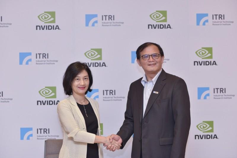 NVIDIA與工研院簽署MOU 驅動人工智慧發展與應用