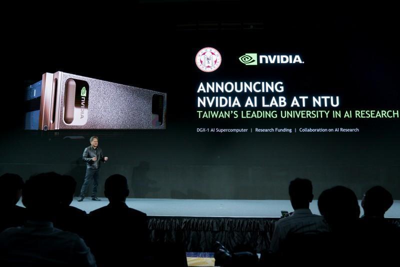 NVIDIA 與台灣大學共同攜手打造 NVIDIA 人工智慧實驗室促進人工智慧研究