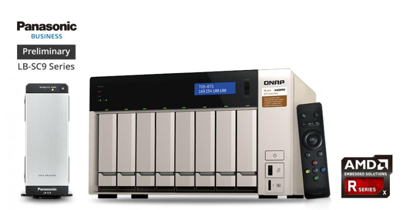 QNAP推出TVS-x73 系列NAS,採用AMD R 系列處理器,具強大影音能力和擴充性
