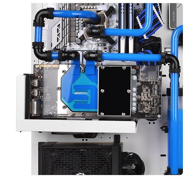 曜越Thermaltake推出Pacific V-GTX 10 Series透明水冷頭