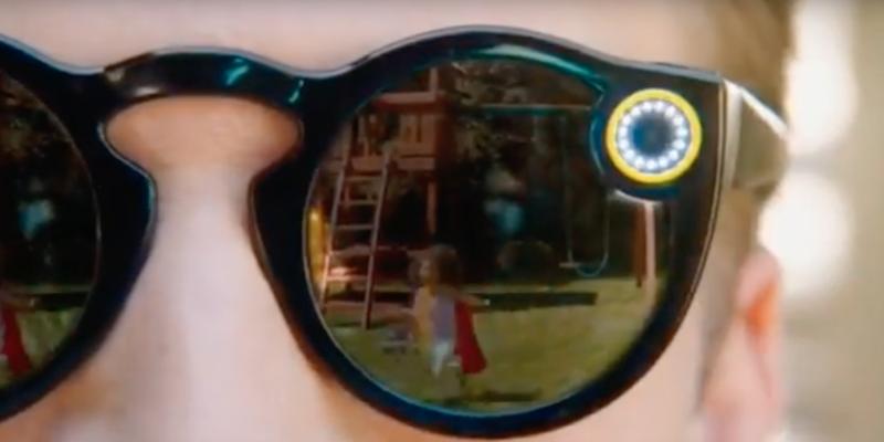 Snapchat首款穿戴硬體:可拍10秒短片的太陽眼鏡 Spectacles