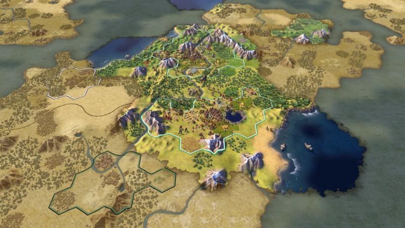 文明帝國五Sid Meier's Civilization VI硬體需求