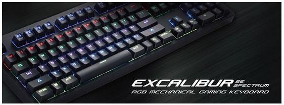 Tesoro鉄修羅引領全球推出機械光軸鍵盤-克力博劍RGB機械光軸版