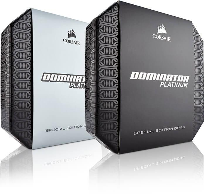 Corsair海盜船推出DOMINATOR PLATINUM限量特別版記憶體