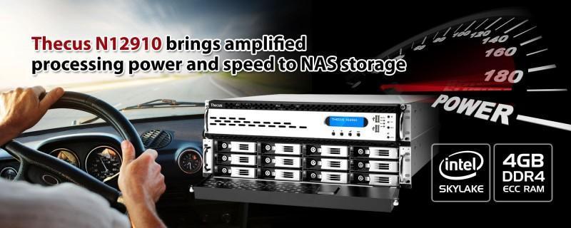Thecus 最新產品線支援Skylake處理器及DDR4記憶體