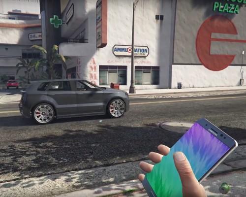 嘲諷滿點 GTA 5 模組修改將 Galaxy Note 7 當作 C4 黏土炸藥來使用