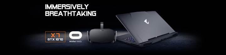 前進未來 AORUS X7 v6取得Oculus-Ready認證