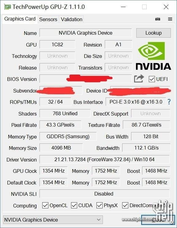 NVIDIA GTX 1050Ti顯示卡效能曝光