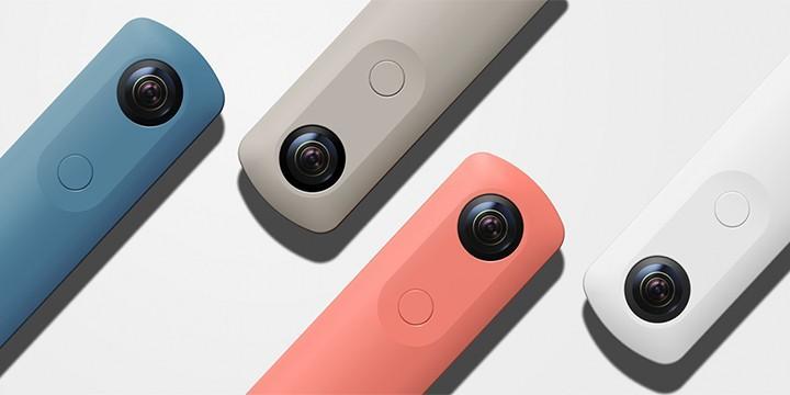 Ricoh 推出新款 360 相機 Theta SC