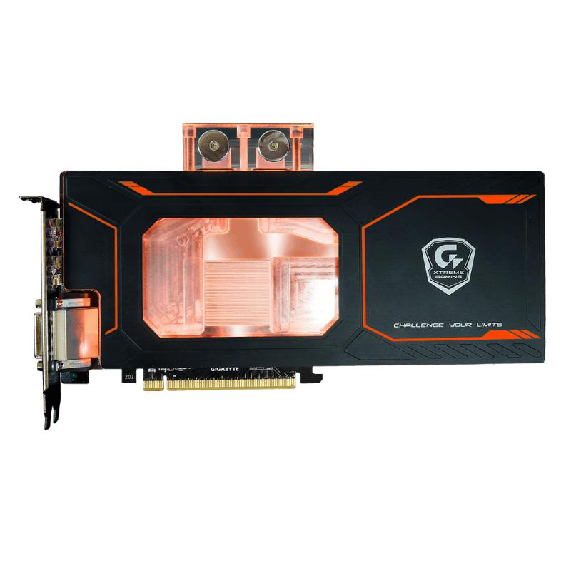GIGABYTE推出GTX 1080 Xtreme Gaming WATERFORCE WB 8G顯示卡,直上RGB水冷頭