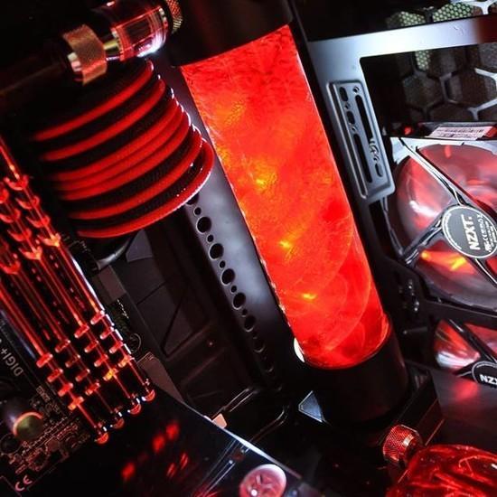 螺旋水管搭配Coolermaster Mastercase Pro 5