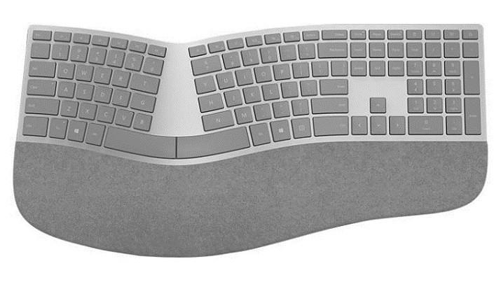 Microsoft微軟發表Surface人體工學鍵盤 造型拉風