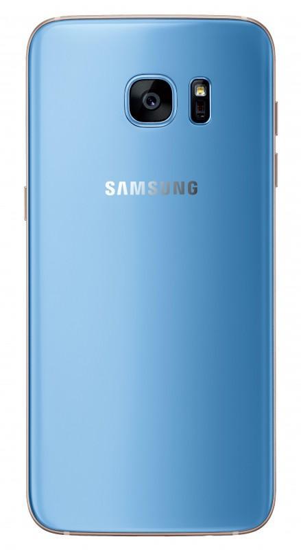 新色限定 耀眼登場 Galaxy S7 edge冰湖藍 正式登台