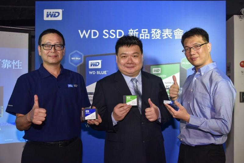 Western Digital 發佈兩款固態硬碟-WD Blue 和 WD Green