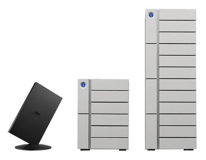 LaCie發表Thunderbolt 3儲存系統 容量爆表、速度最快