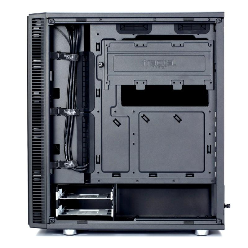 Fractal Design Define C Windows承襲再進化,體積縮小容納ATX主機板