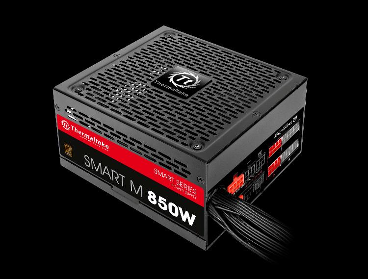 曜越全新Toughpower金牌‧Smart M銅牌及Smart銅牌電源供應器系列 嶄新外觀‧效能與美感兼具