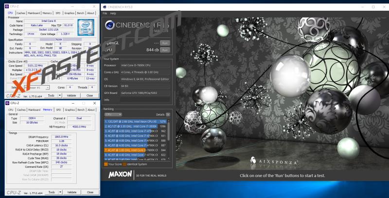 Intel i5-7600K Kaby Lake CPU處理器超頻5.1GHz空冷直上實測給你看
