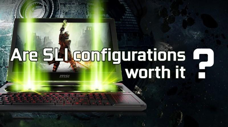筆電 SLI 值得嗎?雙 GTX 1070 SLI 筆電與單 GTX 1070 筆電比較