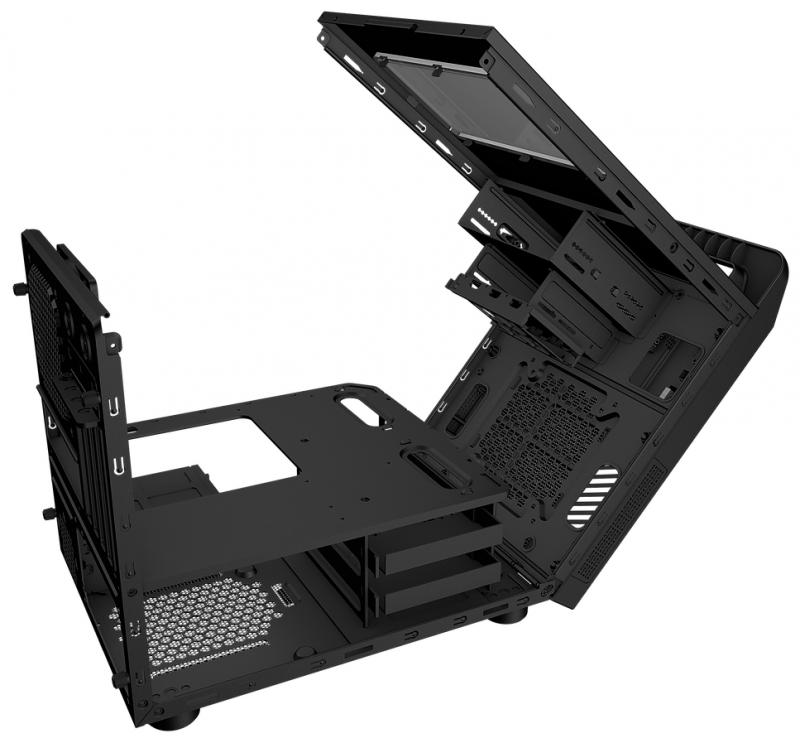 REEVEN 推出KOIOS機殼,採掀開式設計零組件更好安裝