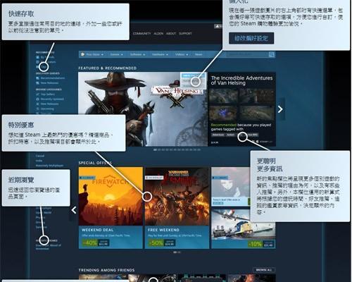 Steam 商店頁面翻新, 更簡潔好瀏覽