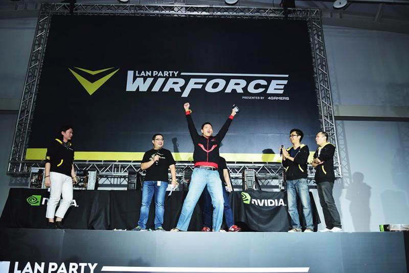 WirForce 2016 BYOC 最爛電腦出爐 獲得技嘉 GTX 1060 XG 顯示卡