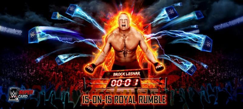 《WWE SuperCard - 賽季3》釋出全新模式「皇家大戰」的詳細資訊