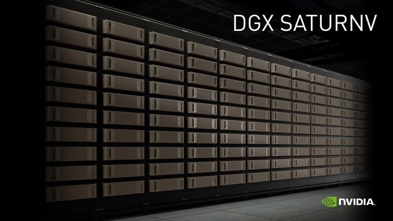 NVIDIA DGX SATURNV 以大幅領先優勢成為全球最具效率超級電腦