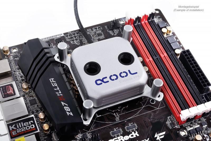 AlphaCool推出 Eisblock XPX CPU 水冷頭,支援AMD AM4腳位
