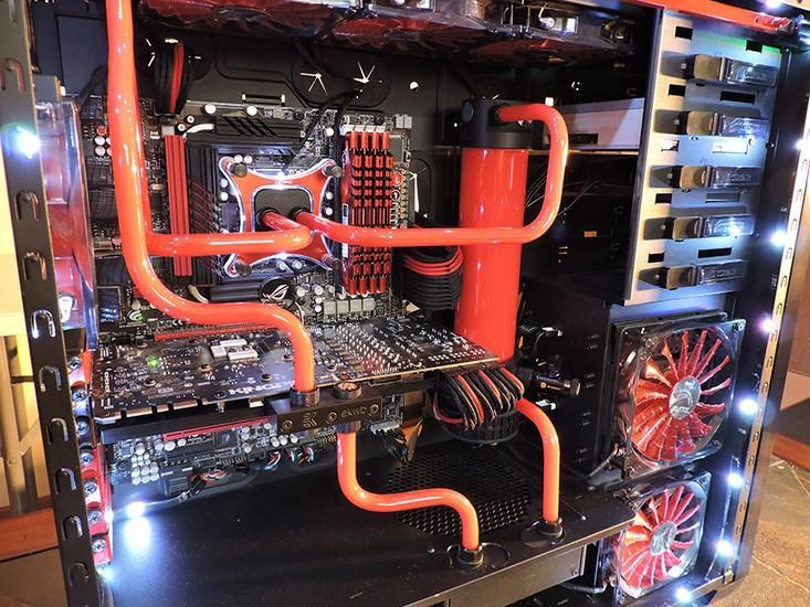 Custom Watercooled PC - Project Havok RED Beast