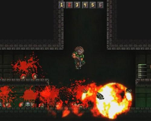 MiniDOOM 2D 遊戲免費下載 向 Doom 1 致敬