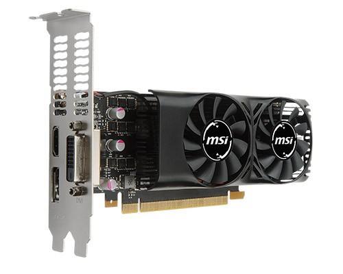 MSI 推出半高 GTX 1050 TI 4GT LP 顯示卡