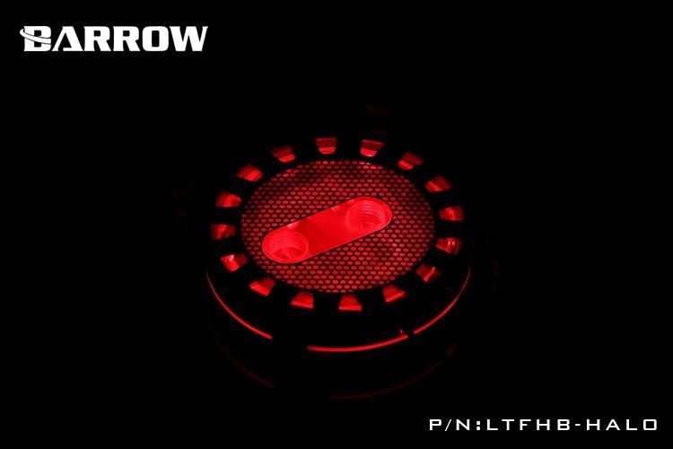 BARROW Energy系列 Halo 限量版水冷頭只有一百顆,酷炫外型先搶先贏