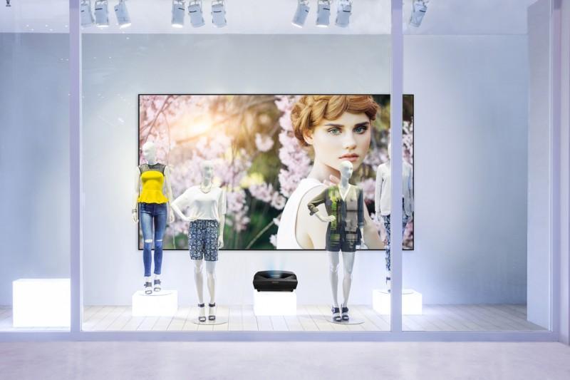 ViewSonic 超越業界極限 推出LS830 Full HD超短焦高亮度雷射投影機