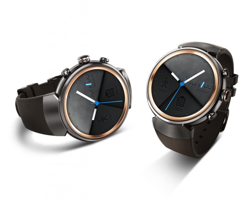 華碩 ASUS 首款圓形智慧錶 ZenWatch 3上市 璀璨分秒腕美綻放