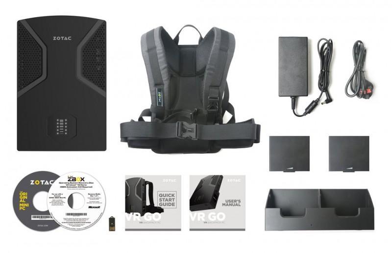 ZOTAC VR GO 背包規格公布,一起背著電腦玩V吧!!